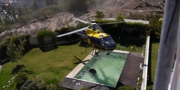 Heroic Helicopter Pilot Saves Lives and Homes
