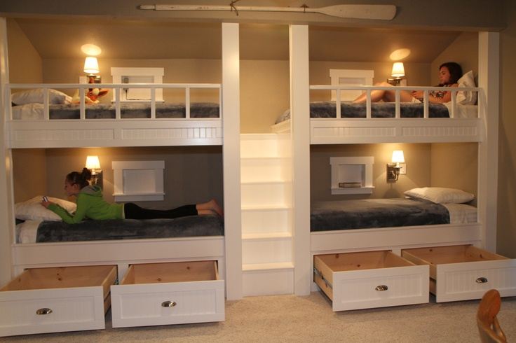 4 bunk bed system