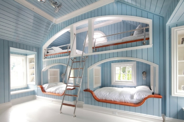 bunk-beds-for-kids-marine-style-design-blue-white