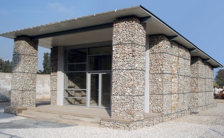 The Gabion House