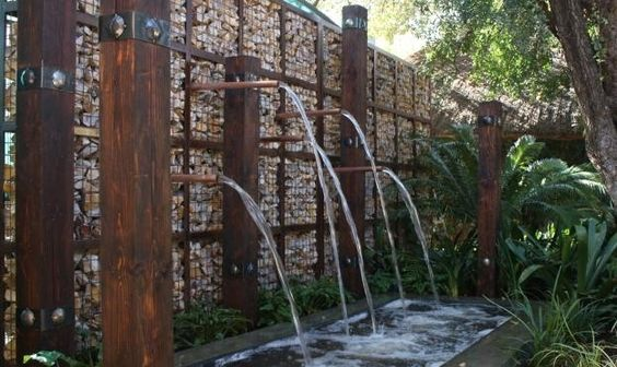 gabion water feature homestead self reliance university