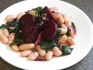 Beet and Green Salad recipe