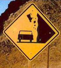 Falling Cows Warning