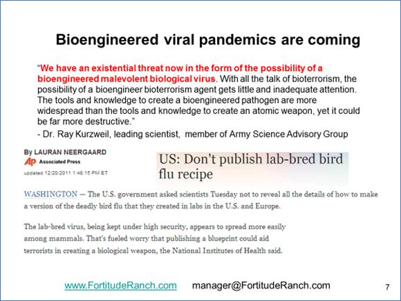 Bioengeneered Pandemic Statistics