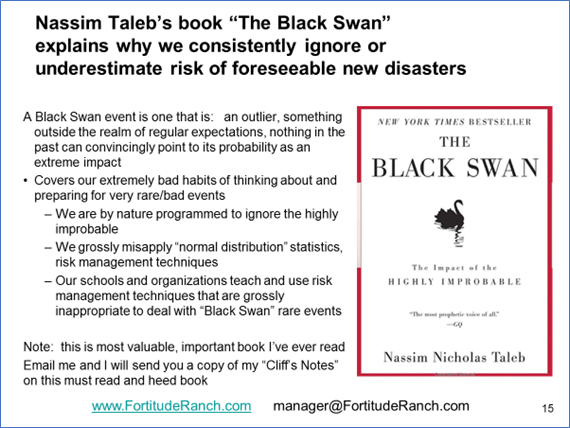 Notes on The Black Swan